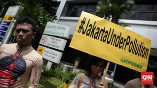 3 Skenario BPPT Atasi Polusi Udara di Jakarta