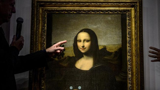Leonardo Da Vinci Diduga Sempat Buat Mona Lisa Versi Bugil