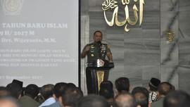 Massa Aksi 299 Pekikkan Dukungan TNI dan Jenderal Gatot