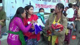 VIDEO: Mensos Beri Nama Iriana untuk Bayi Pengungsi