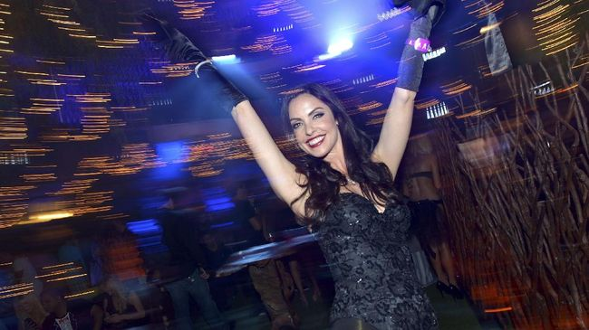 FOTO: Mengingat Pesta Panas Playboy Mansion
