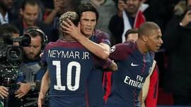 Cavani Berang Diberitakan Berseteru dengan Neymar