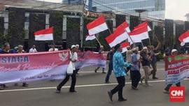Massa Aksi 299 Tugu Tani Teriakkan Dukungan untuk Jonru