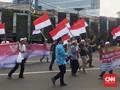 Polisi Blokade Tujuh Bis Massa Aksi 299 asal Tangerang