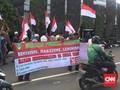 Orator Aksi 299 di Tugu Tani Ditinggal Pergi Saat Orasi