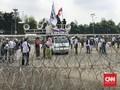 Ribuan Personel Aparat Gabungan Amankan Aksi 299 di DPR
