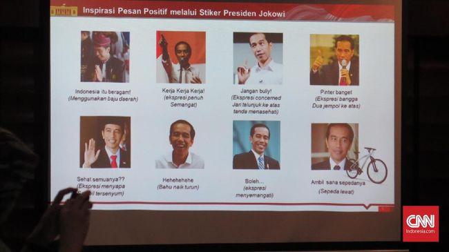 Sambut Sumpah Pemuda, Wajah Jokowi Akan Hiasi Stiker Line