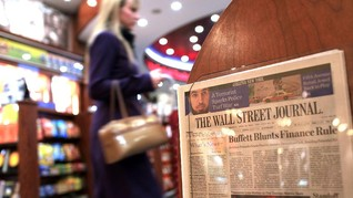 Wall Street Journal 'Bunuh' Edisi Cetak Eropa dan Asia