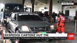 Ekspedisi Puncak Cartenz dalam Rangka HUT ke-72 TNI