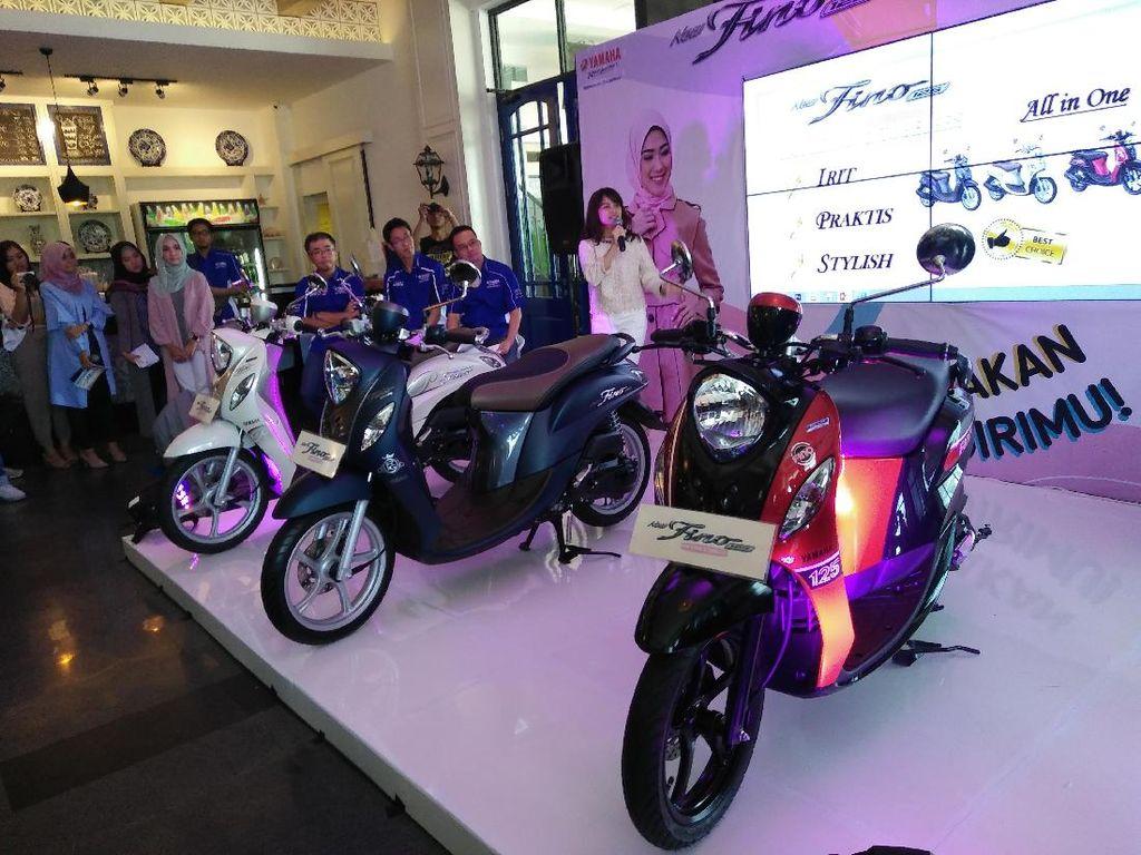 Motor paling seksi kedelapandi Januari 2018 milik Yamaha Finomencapai 15.152 unit. Foto: Khairul Imam Ghozali