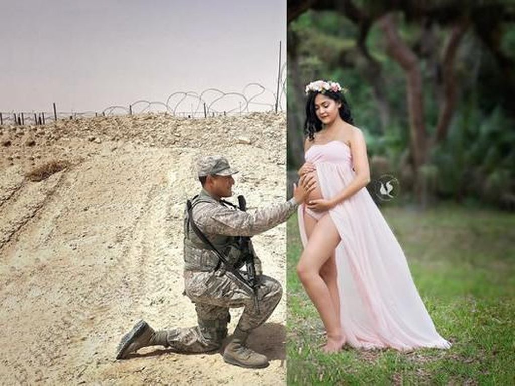 Foto: 8 Foto Kehamilan yang Tidak Biasa, Keren Hingga Seram