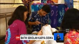 VIDEO: Hari Batik Nasional, Siswa Yogya Buat Seragam Sendiri