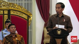 Wiranto dan Yasonna ke Istana Bogor, Jokowi Tunda Ratas