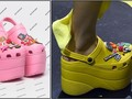 Balenciaga Populerkan Crocs di Panggung Paris Fashion Week