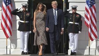Kunjungan Ke Inggris, Donald-Melania Trump Akan Bertemu Ratu