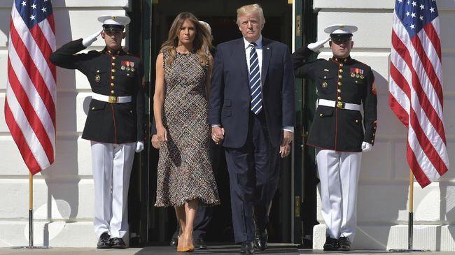 Melania Trump Enggan Membahas Isu 'Pelakor'