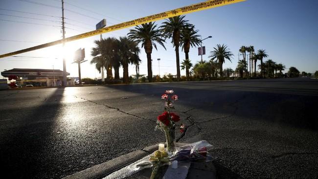 Presiden Donald Trump pun diagendakan berkunjung ke Las Vegas untuk menenangkan para warga. (Reuters/Chris Wattie)