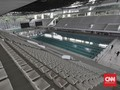 FOTO: Wajah Baru Stadion Renang Gelora Bung Karno
