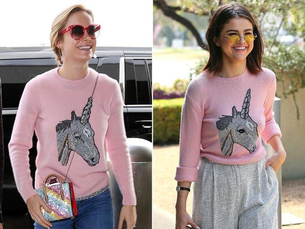 Foto: 8 Momen Selebriti Pakai Baju Kembar, Mana yang Lebih Stylish?