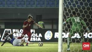 Egy Tampil di Laga Timnas Indonesia U-19 vs Arab Saudi