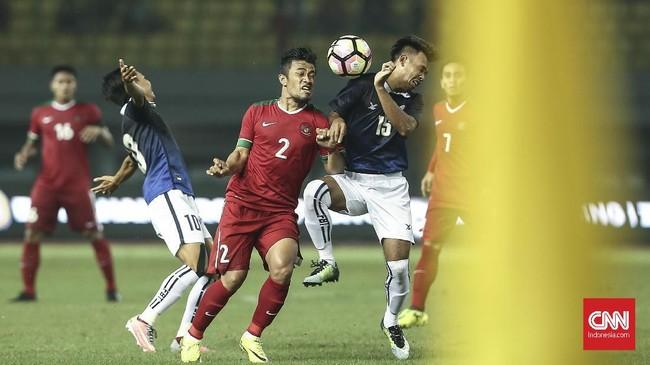 Laga berakhir dengan skor 3-1 untuk Timnas Indonesia. Hasil ini menambah panjang daftar dominasi Timnas Indonesia atas Kamboja dalam tiga dekade terakhir. (CNN Indonesia/Adhi Wicaksono)