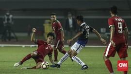 Gol Penalti Selamatkan Timnas Indonesia U-19 dari Kekalahan