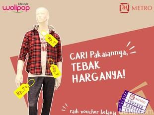 Bisa Menang Voucher Belanja Rp 500 Ribu Cuma dengan Tebak Harga Baju Ini