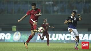 Daftar 22 Pemain Timnas Indonesia Lawan Thailand