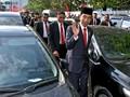 Curhat Jokowi saat Jalan Kaki Menuju Lokasi HUT TNI
