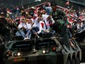 FOTO: TNI Merayakan HUT ke-72 Bersama Presiden dan Rakyat