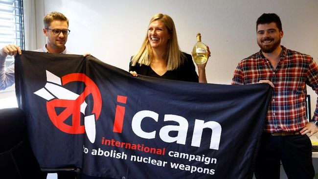 Kelompok Anti-Senjata Nuklir Menang Nobel Perdamaian 2017