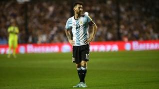 Messi Malu Sempat Mundur dari Timnas Argentina