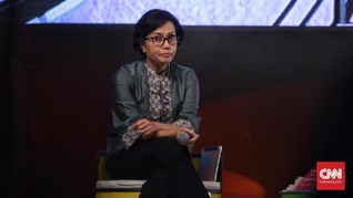Sri Mulyani Komentari Toko Ritel yang 'Berguguran'