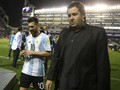 FOTO: Timnas Argentina dan Lionel Messi Tertunduk Lesu