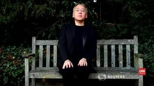 VIDEO: Kazuo Ishiguro Sempat Tak Percaya Raih Nobel Sastra