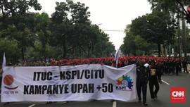Ribuan Buruh Akan Berunjuk Rasa 10 November