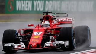 Vettel Tak Masalah Pole Position Jadi Milik Bottas