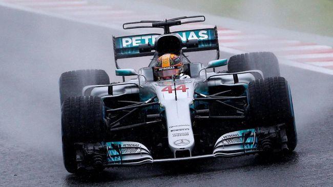 Hamilton Masih Digdaya di Latihan Bebas 2 GP Amerika Serikat