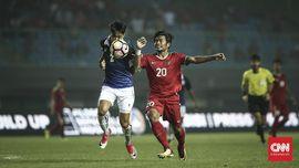 Babak Pertama, Timnas Indonesia vs Islandia Imbang 1-1