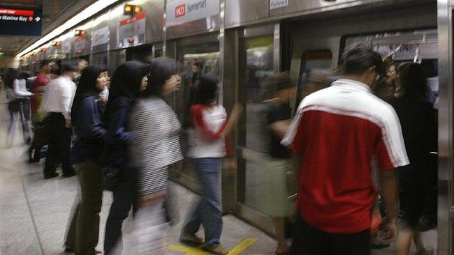 Tabrakan MRT di Singapura, 25 Cedera Dua Luka Serius