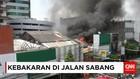 Kebakaran di Jalan Sabang