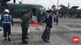 Jokowi Terbang ke Sumenep 'Sowan' dengan Ulama