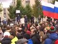 VIDEO: Ratusan Oposisi Rusia Ditangkap saat Ulang Tahun Putin