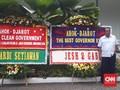Banjir Karangan Bunga di Balai Kota, Ahok Masih di Hati Warga