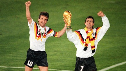 Lothar Matthaus, Pemegang Rekor 25 Laga di Piala Dunia