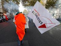 Ada banyak versi tentang penggunaan wortel dalam demo terkait pengendalian tembakau. (Foto: REUTERS/Philippe Wojazer)