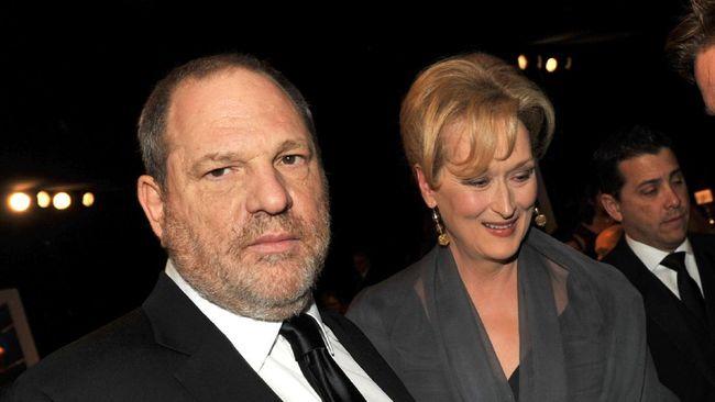 Meryl Streep Mengutuk Aksi Cabul Produser Harvey Weinstein