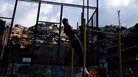 FOTO: Jejak Pablo Escobar di Comuna 13