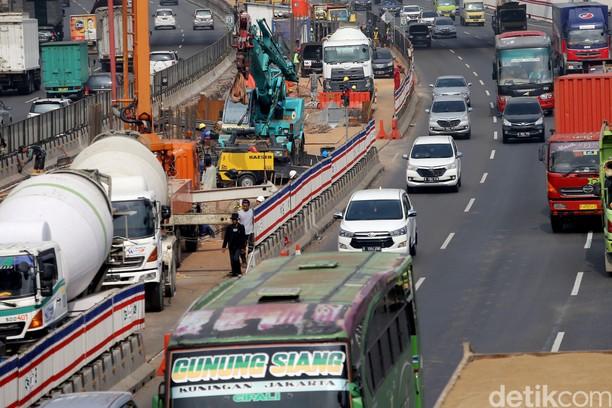 Jalan Tol Layang Jakarta-Cikampek Memasuki Tahap Konstruksi