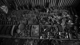 Ratusan Peluru Ditemukan di Kali Sekretaris Jakarta Barat